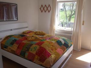 Tweepersoonskamer met gedeeld bed